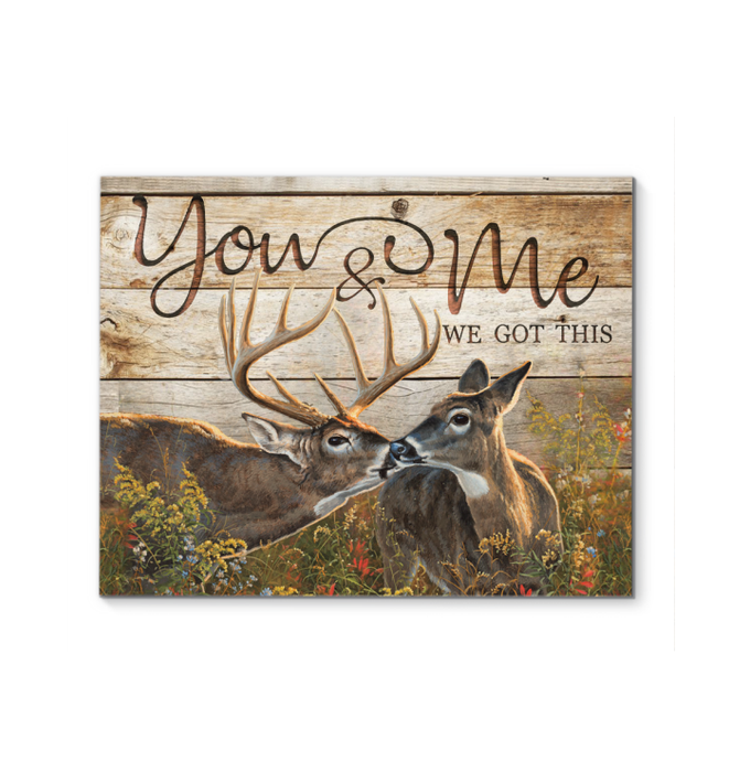 Canvas Buck&Doe You&Me Ver3 - Hayooo Shop