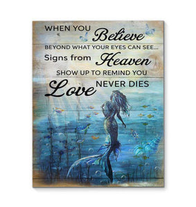 Canvas - Mermaid - When You Believe - yenyenstore