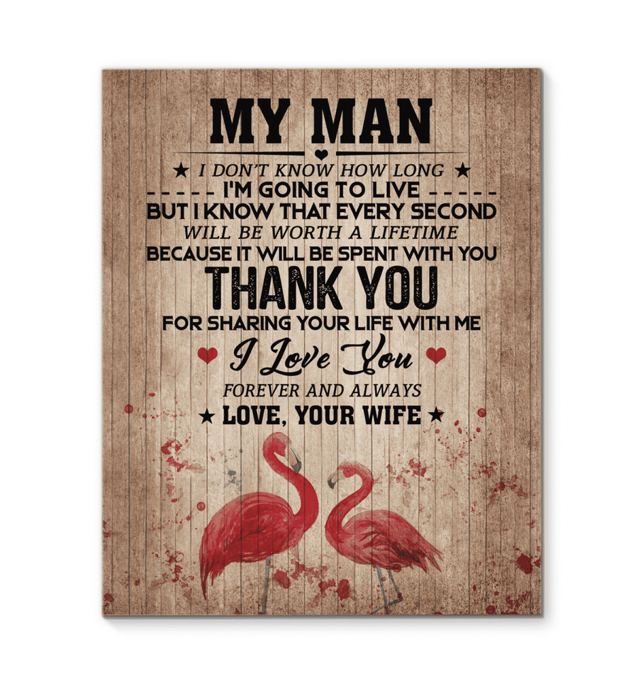 CANVAS - My Man - Thank you - yenyenstore