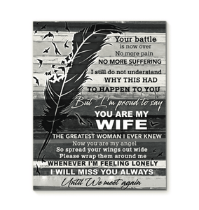CANVAS - You are My Wife - yenyenstore