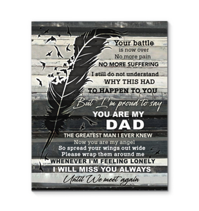 Canvas You Are My Dad - Hayooo Shop