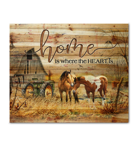 Canvas - Horse - Home
