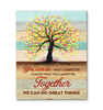 Teamwork - Canvas - Together we can do great things Ver.2