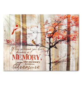 Canvas Cardinal A Memory - Hayooo Shop