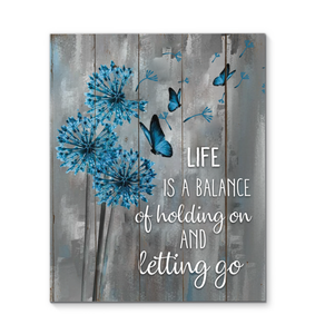 Canvas - Butterfly - Life Is A Balance
