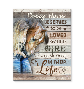 Canvas Horse Every Horse... - Hayooo Shop
