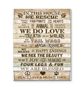 GL - CANVAS - Rescue - In this house