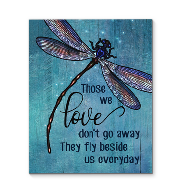 Canvas - Dragonfly - Those we love