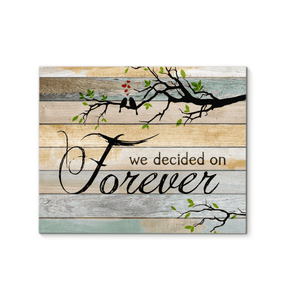 CANVAS - We decided on forever - yenyenstore