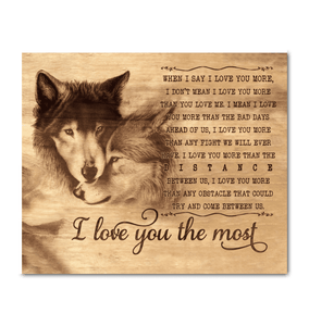 Wolf - I Love You The Most - yenyenstore