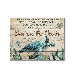 Canvas - Turtle - You Are The Ocean