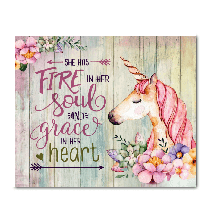 CANVAS - She Has Fire In Her Soul - yenyenstore
