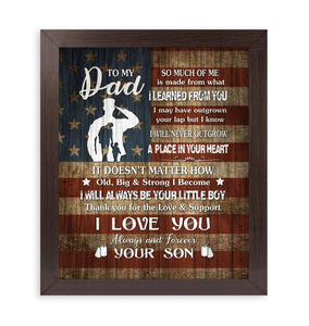 CANVAS - Veteran - Dad - I love you - yenyenstore