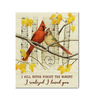 Canvas Cardinal I Never Forget The Moment - Hayooo Shop