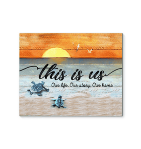 CANVAS - Turtle - This is us (1 piece) - yenyenstore