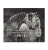 CANVAS - HORSE - Thank God I'm Yours (1 piece) - yenyenstore