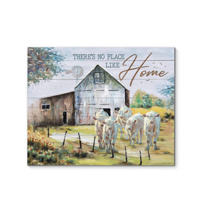 Hayooo Farm Canvas There'S No Place Like Home