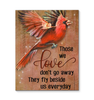 Canvas Cardinal Those We Love Don'T Go Away - Hayooo Shop