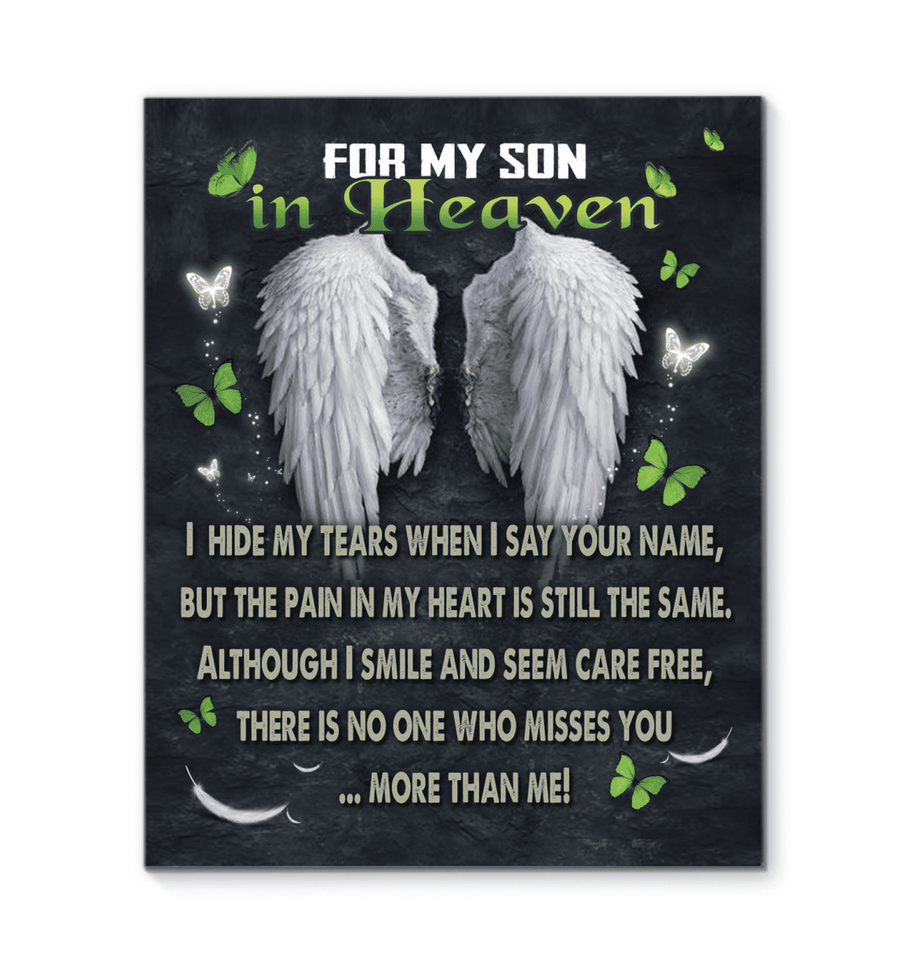 Canvas - For My Son In Heaven - yenyenstore