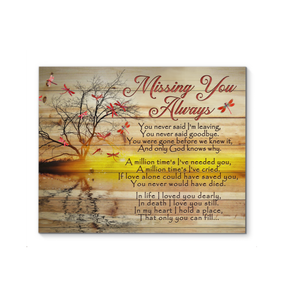 Canvas Dragonfly Missing You Always - Hayooo Shop