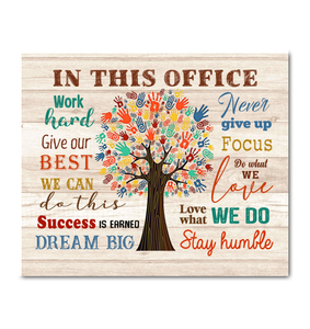 IN THIS OFFICE - Canvas - Give our best Ver.2