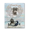 Canvas Dachshund I'Ll Wait For You - Hayooo Shop