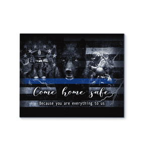 CANVAS - POLICE - Come home safe - yenyenstore