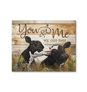 Canvas - Holstein Cow - You&Me ver2