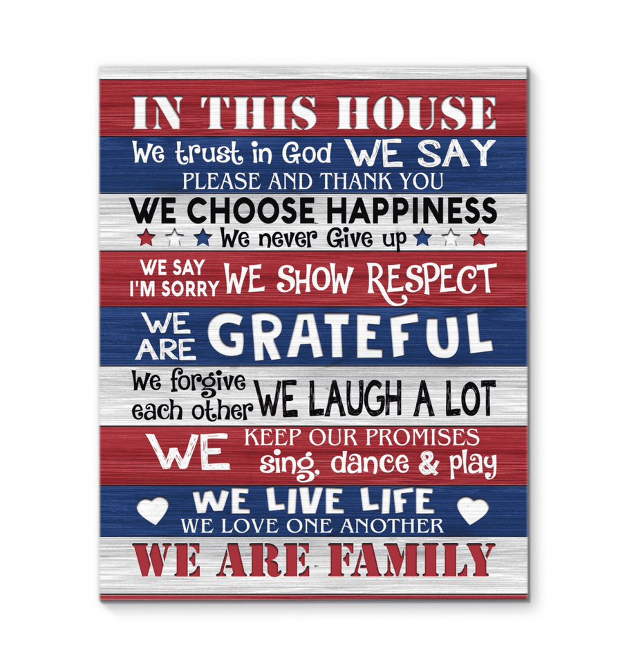 CANVAS - Family - In this house - yenyenstore