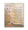 Canvas Butterfly The Day God Took You Home - Hayooo Shop