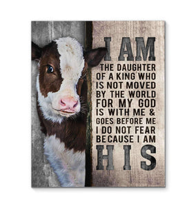 Canvas - Cow - I Am His - yenyenstore