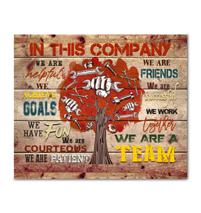 Mechanic - In this company - We are a team Ver.4