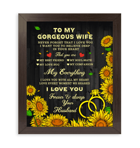 CANVAS - To my wife - My everything - yenyenstore
