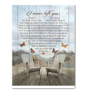 Phbutterfly Canvas I Never Left You