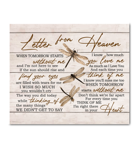 HAY - Canvas - Dragonfly - Letter from heaven