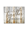 Home - Canvas - Together we have it all