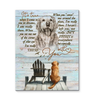 Canvas Dog It'S True - Hayooo Shop