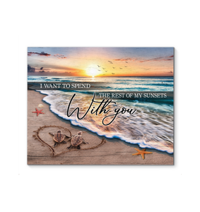 Canvas Turtle With You - Hayooo Shop