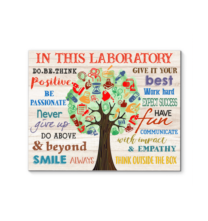 In This Laboratory Canvas Think Outside The Box Ver.2
