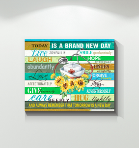 Nurse Canvas Today Is A Brand New Day