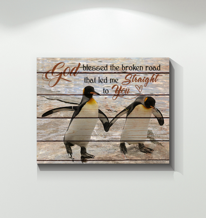 Penguin - Canvas - Straight To You