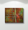 Dragonfly - Canvas - Life Is Short