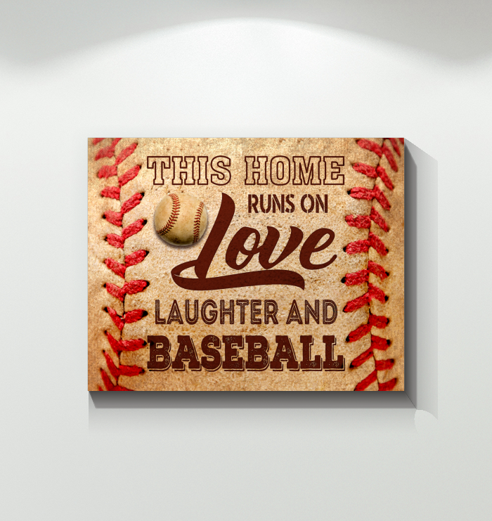 CANVAS - Baseball - This house runs on