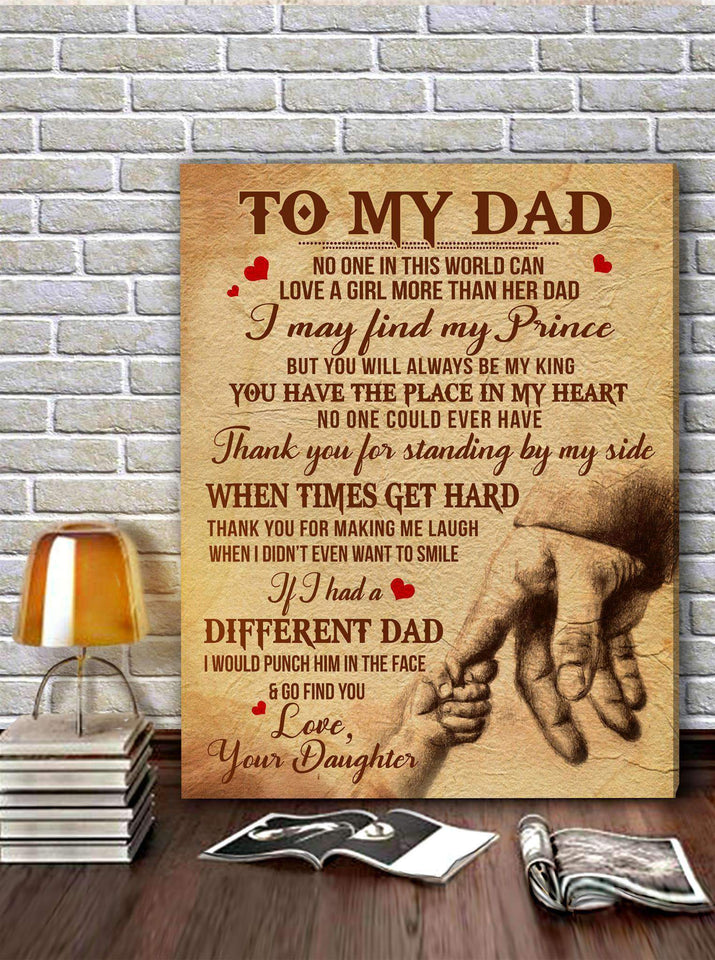 CANVAS - DAD (Daughter) - No one in this world - yenyenstore