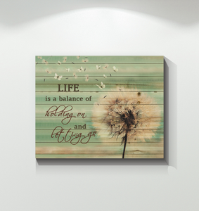 Canvas Butterfly Life Is Balance Ver.2