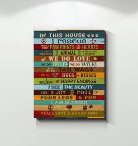 CANVAS - Rescue - In this house (I)