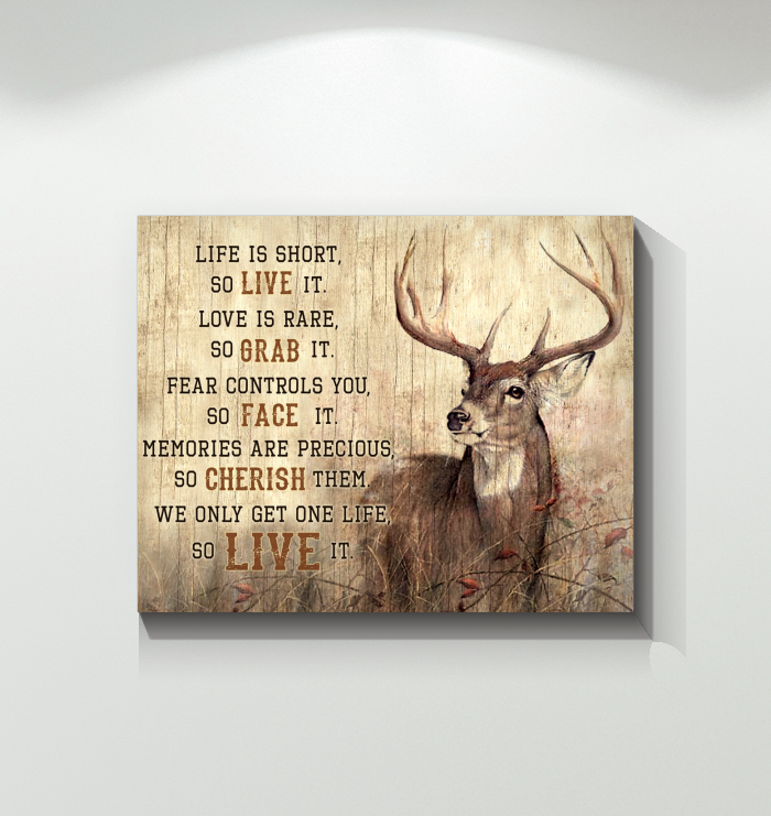 Hunting - Canvas - Live It
