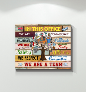 Canvas - In This Office - We Are A Team