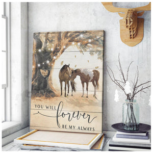 Canvas Horse You Will Forever Be - Hayooo Shop