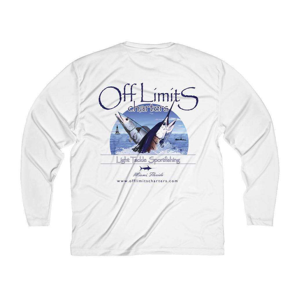 Men's Off Limits Long Sleeve DryFit Shirt W/ Back